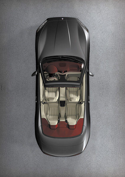 Maserati GranCabrio top view