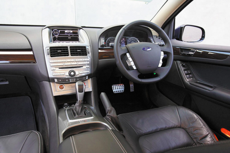 Ford Performance Vehicles F6 E interior