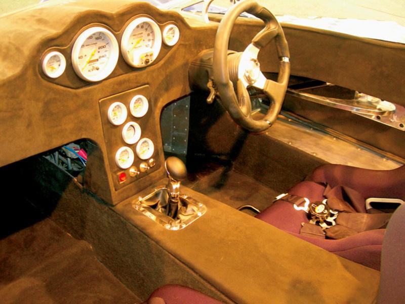 E-VADE Sportscar interior