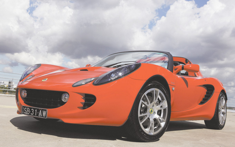 Supercharged Elise SC front angle