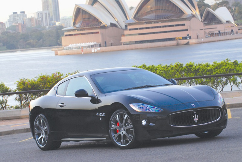 2008 Maserati Range at the Sydney Motorshow
