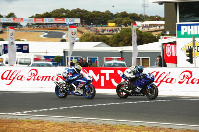Australian Superbike racing