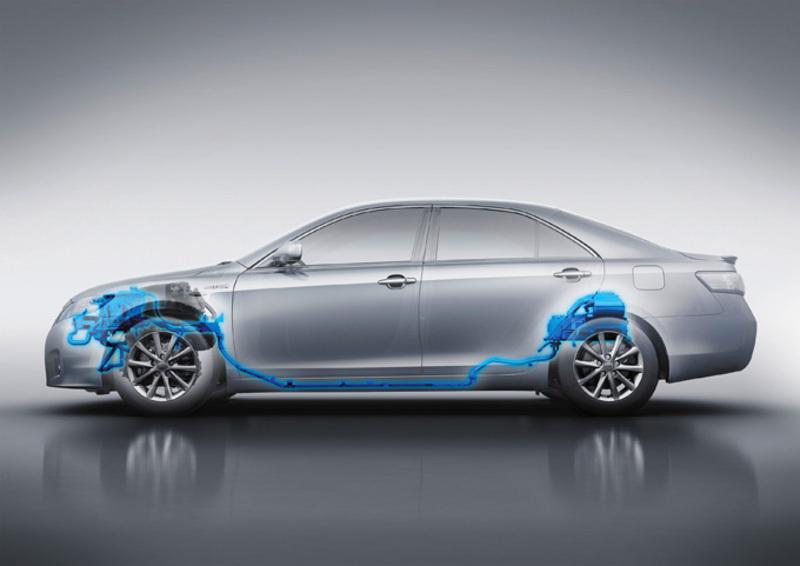 Toyota Hybrid Camry side