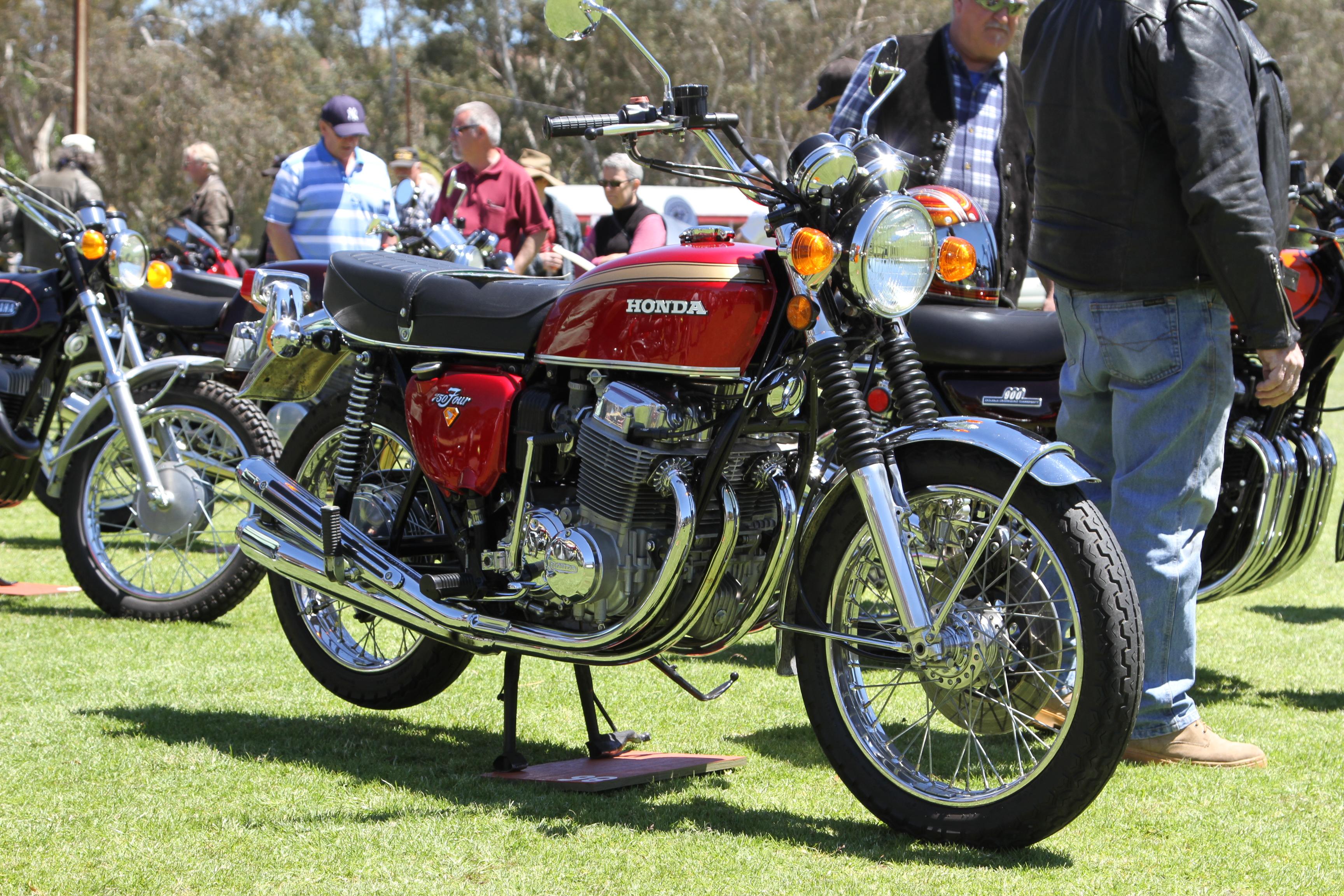 Honda Motorcycle at Event