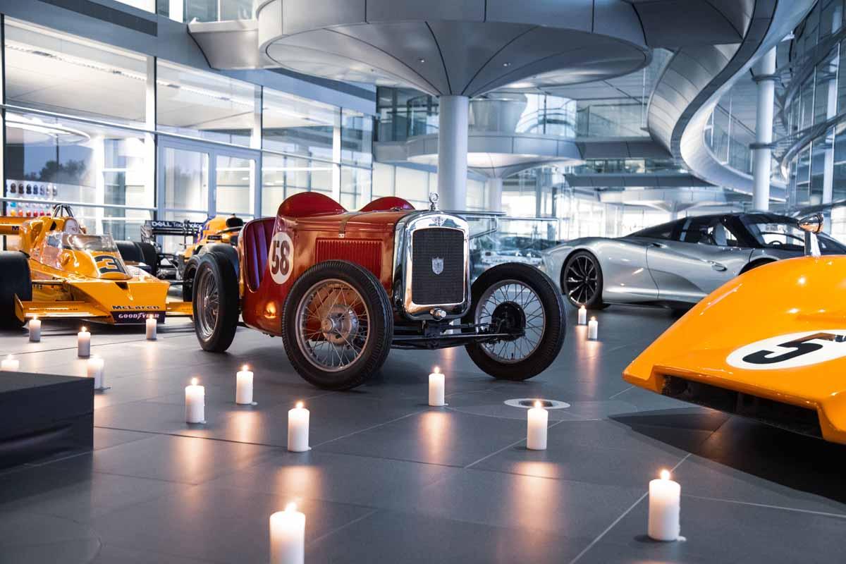 McLaren unveils statue of founder