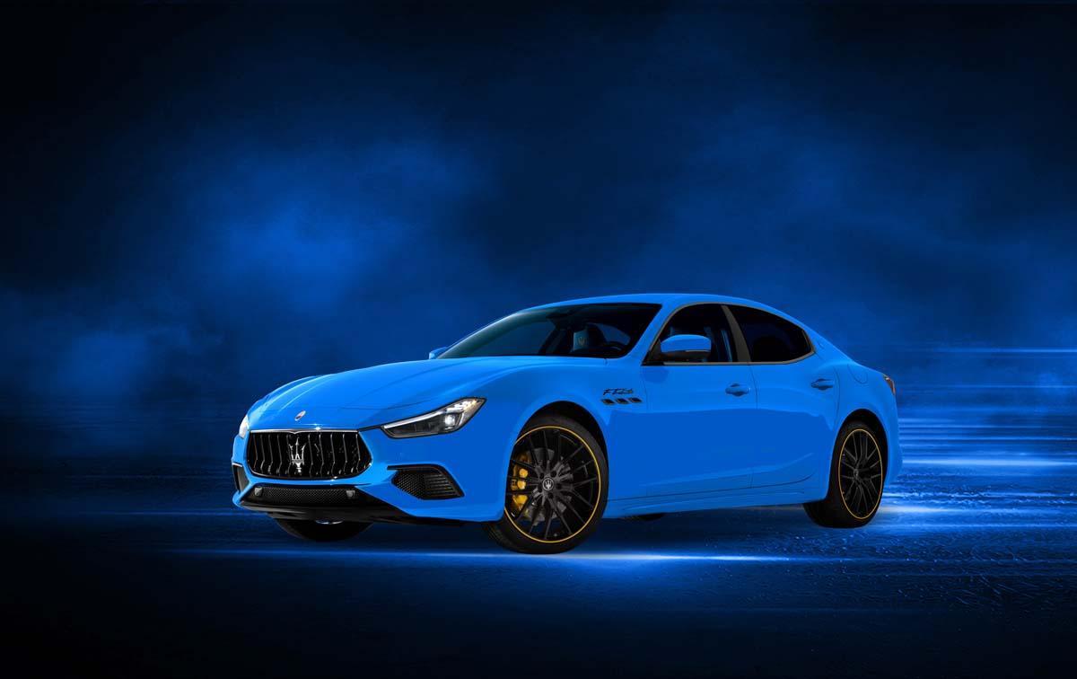 Maserati create 'F Tributo' Ghibli special edition