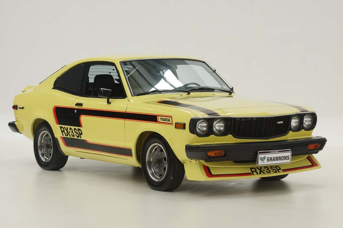 Rare Mazda RX-3 up for grabs in Shannons online auction