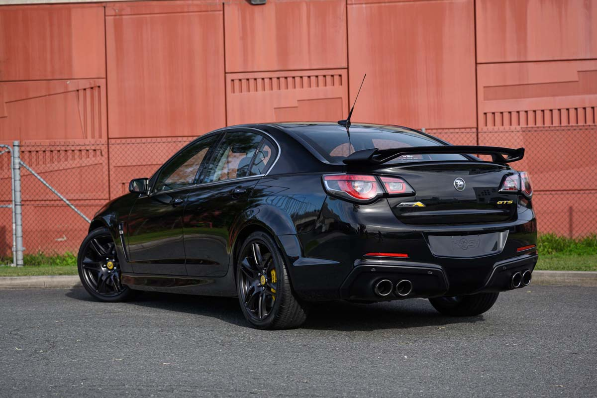 Low-km HSV GTS goes to auction with Chrome Temple