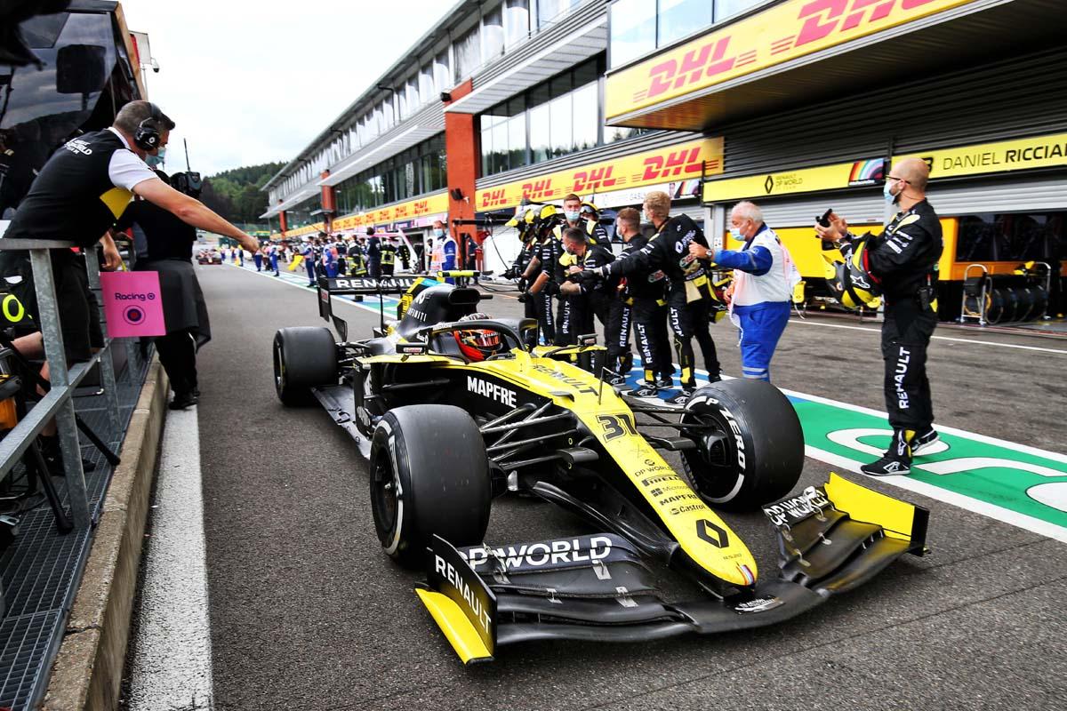 Renault to rebrand Formula 1 team for 2021