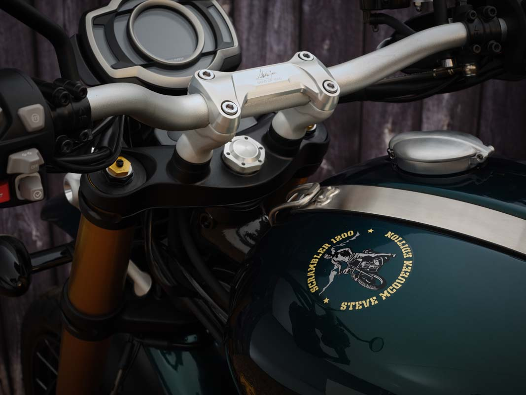2021 Scrambler 1200 Steve McQueen Edition
