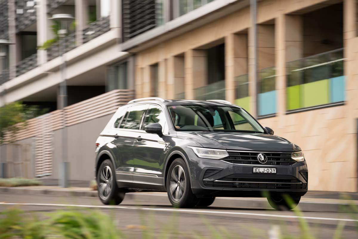VW Tiguan upgraded