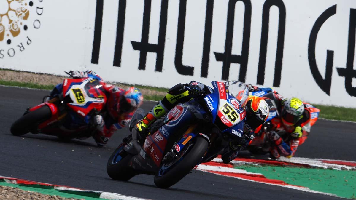 Andrea Locatelli extends Yamaha WSBK contract