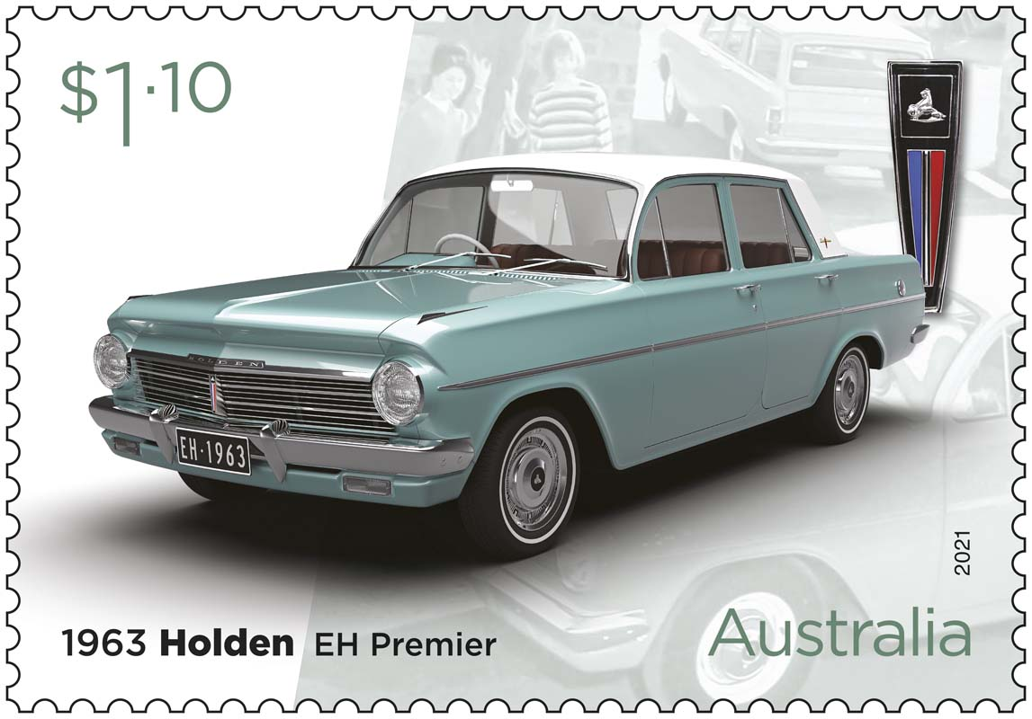Aus Post releases Holden stamp set