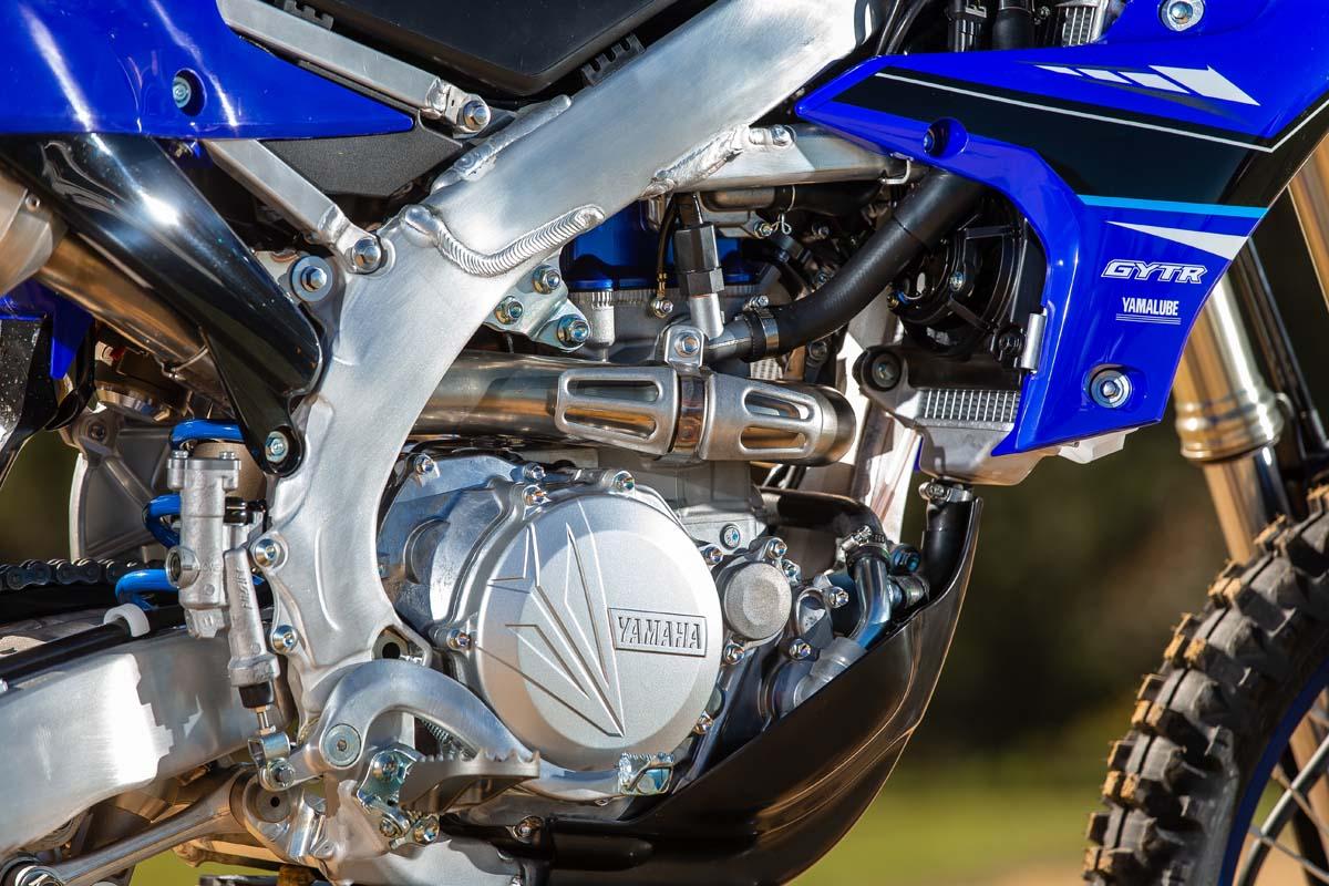 Yamaha previews 2021 WR450F