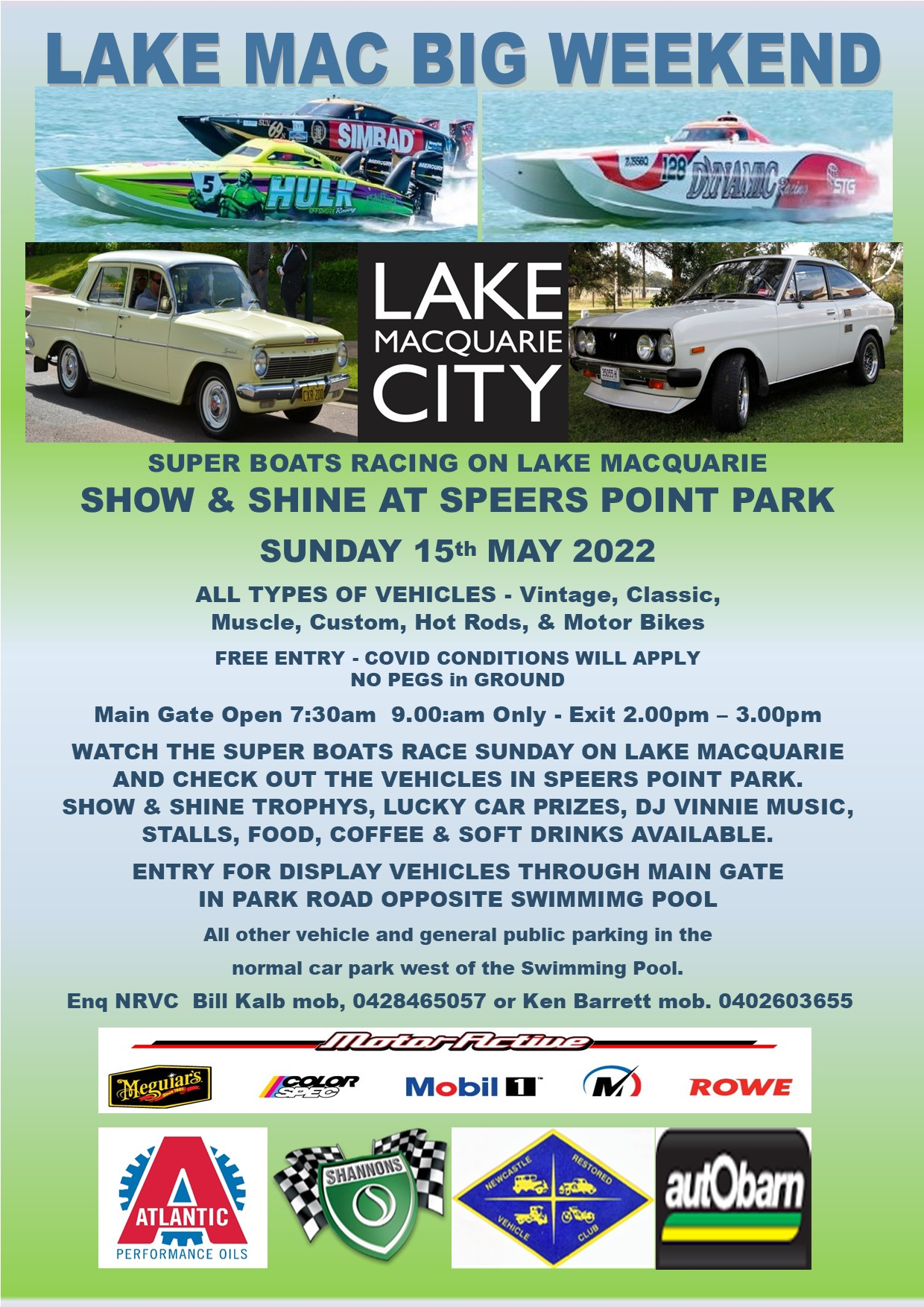 SHOW & SHINE AT SPEERS POINT PARK 2022