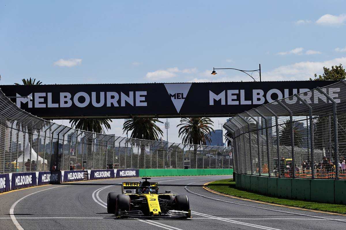 Albert Park track to be altered for 2021 Aus F1 GP