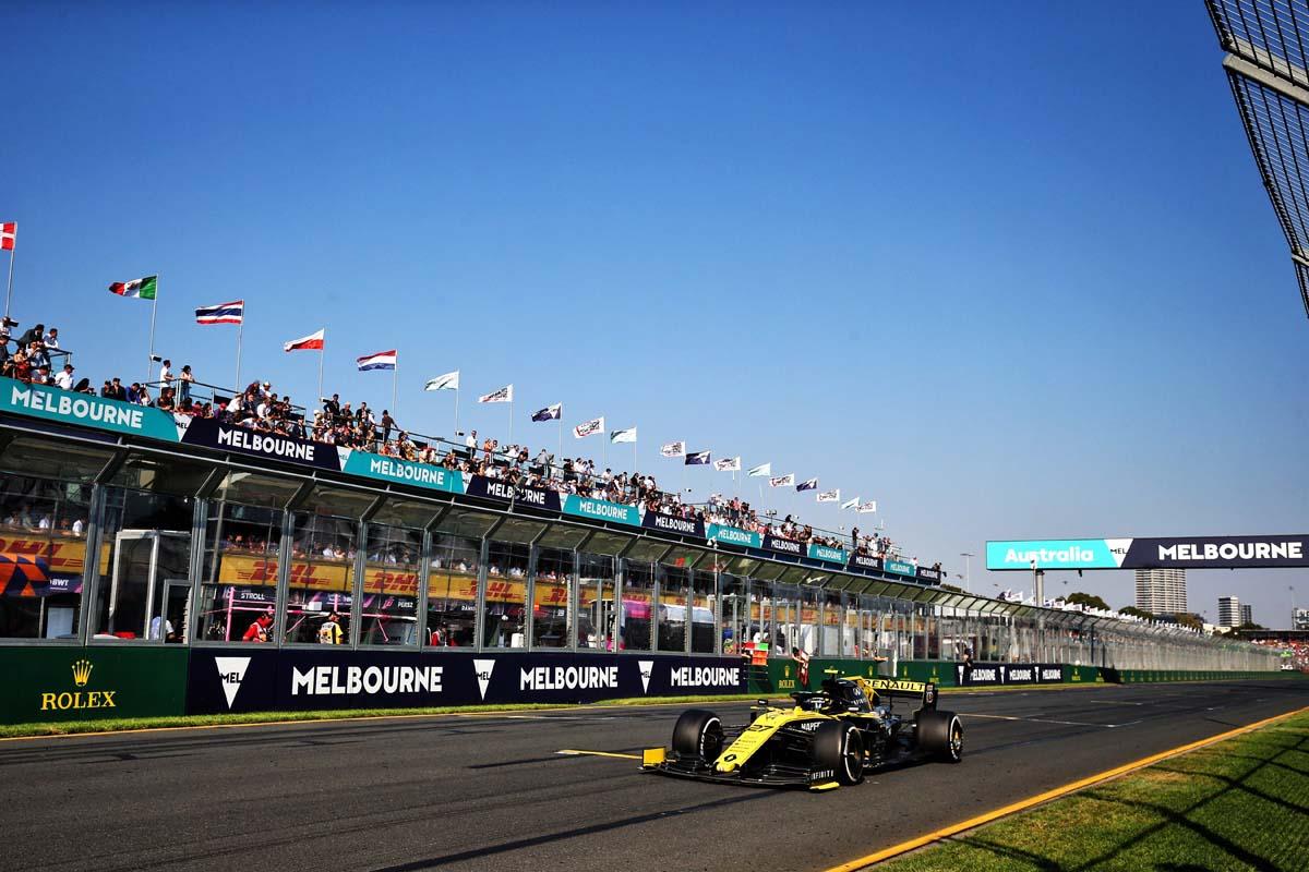 2021 Australian F1 Grand Prix cancelled