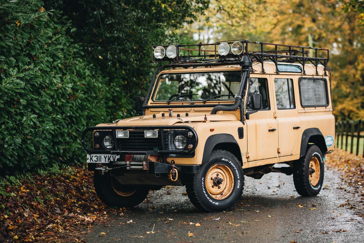 FEATURE - 1992 Land Rover Defender 110 Camel Trophy