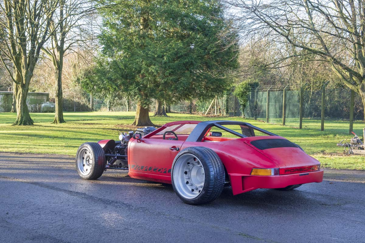 Bizarre Bentley-Porsche hybrid going to auction in UK
