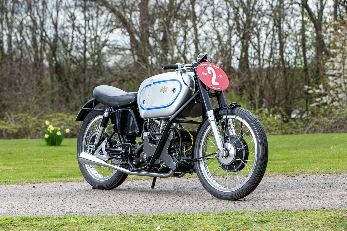 AJS sets new auction world record
