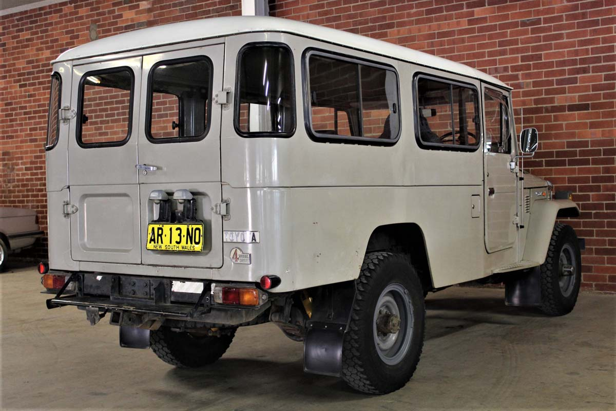 L/C Troopy makes almost $50K at ACT auction