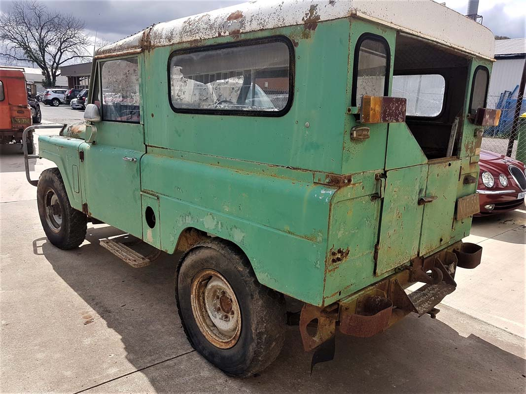 'Barn Find' Nissan Patrol G60 pair going to auction