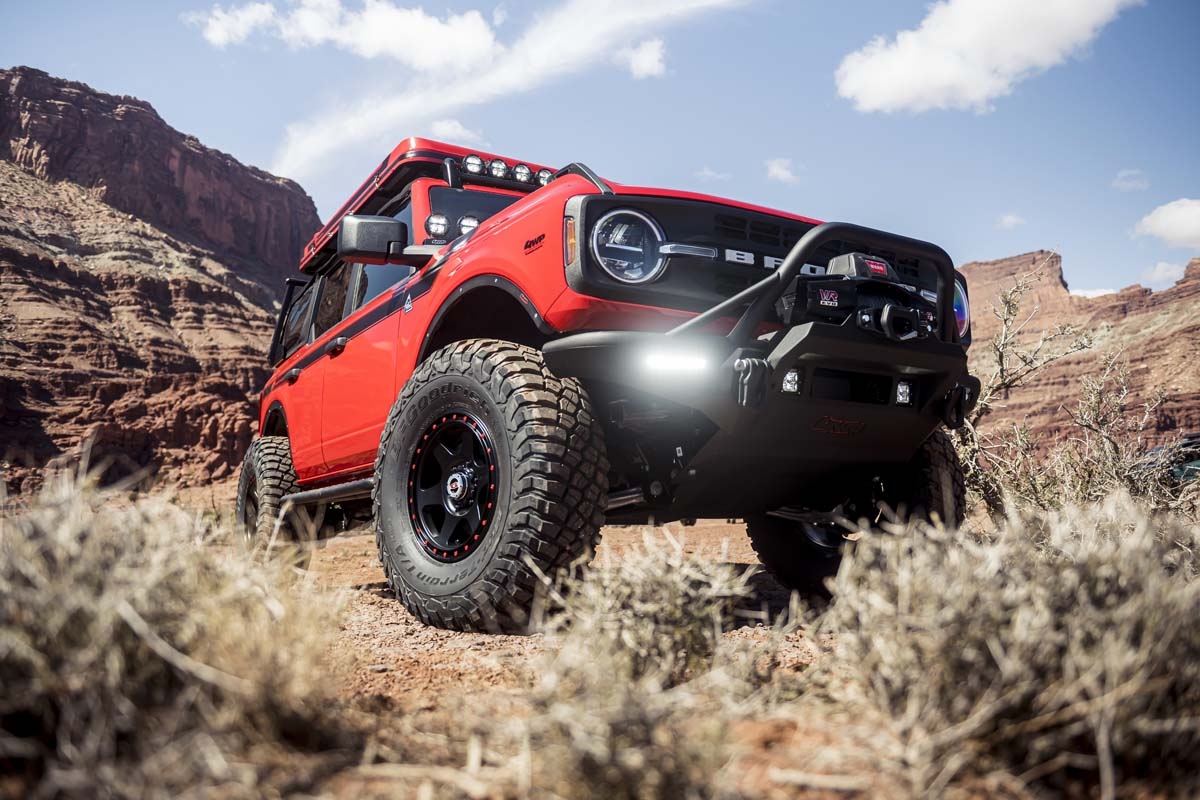 FEATURE – Ford Bronco and Bronco Sport by 4 Wheel Parts