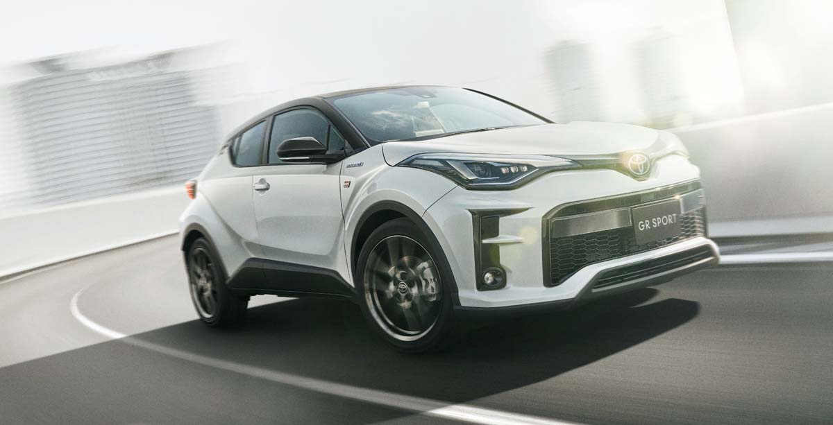 Toyota adds GR Sport grade to C-HR