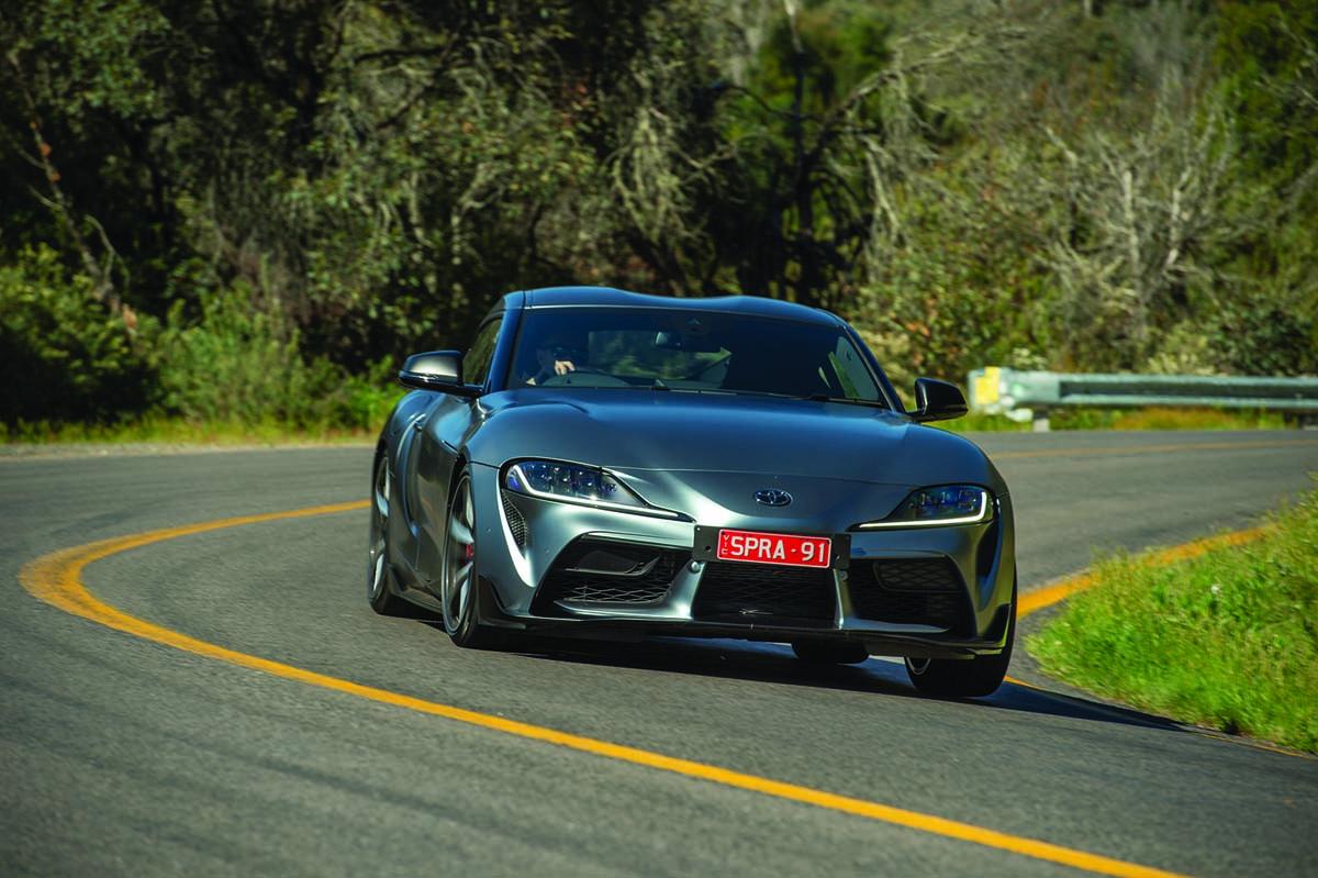 Toyota boosts GR Supra performance