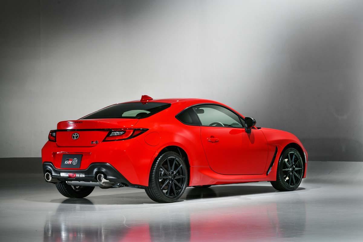 New Toyota 86 revealed