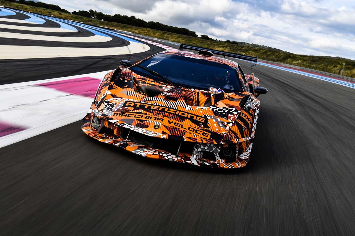 Lamborghini previews SCV12 hypercar
