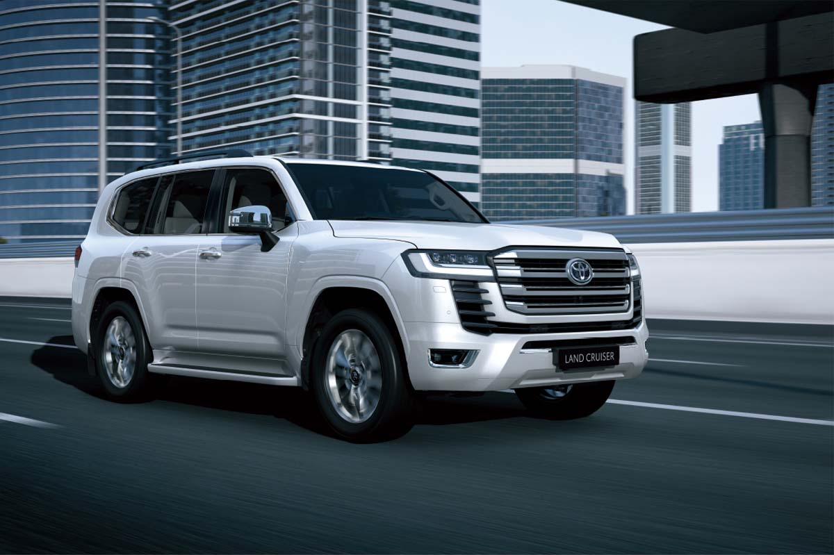 oyota doubles up on LandCruiser 300 Series