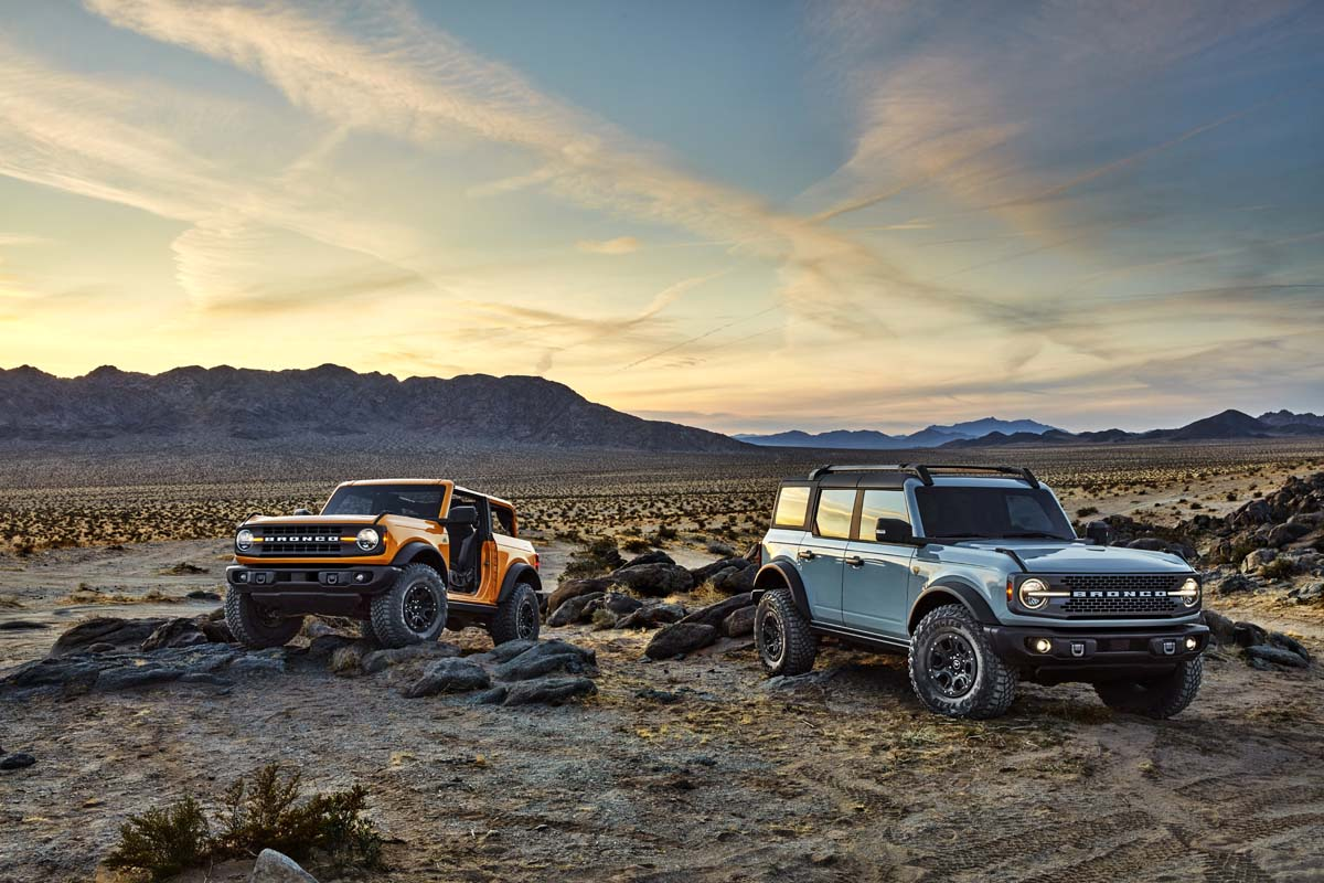 New Bronco wins iF Design Award