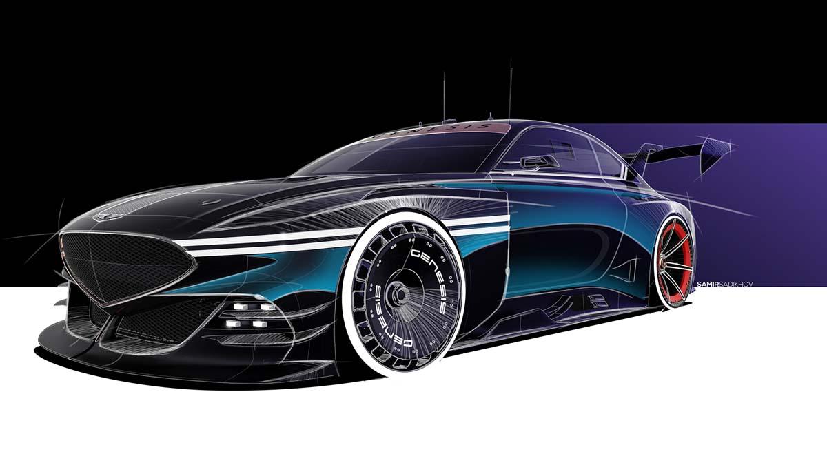 Genesis reveals motorsport concepts