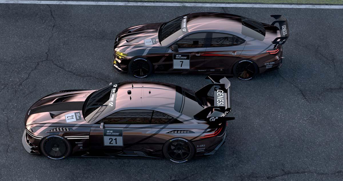 enesis reveals motorsport concepts
