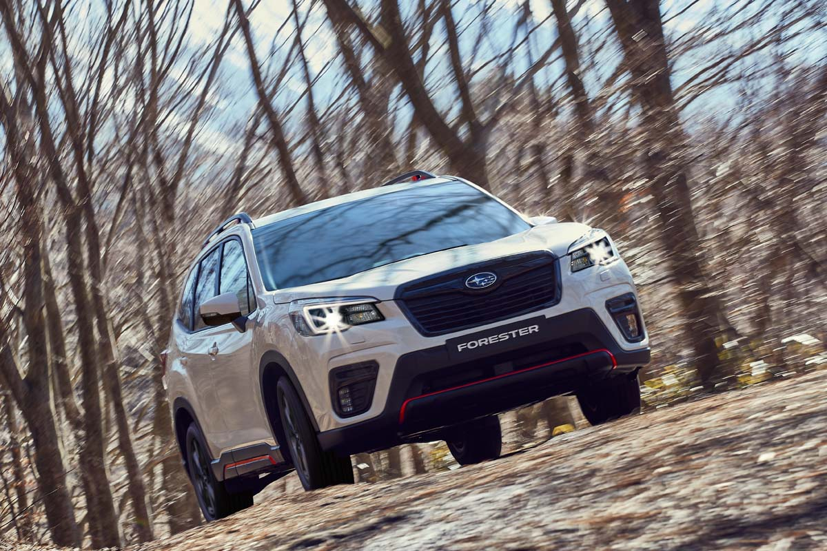 Subaru adds 'Sport' to Forester