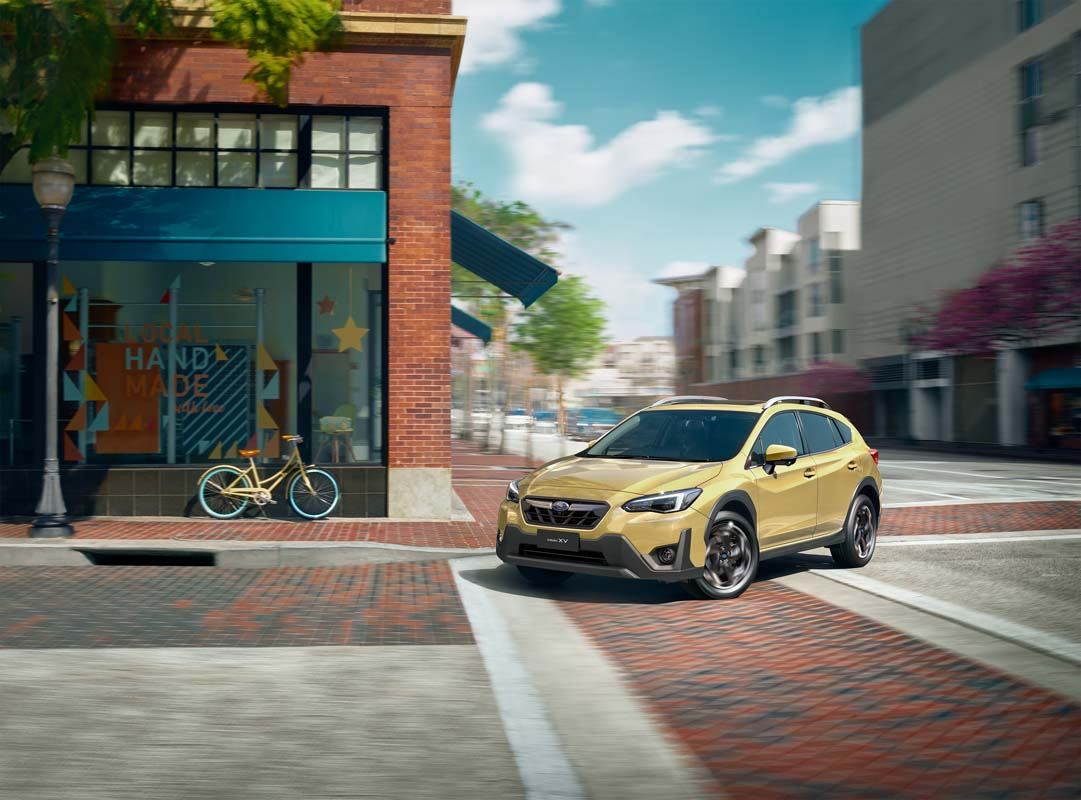 Subaru upgrades XV