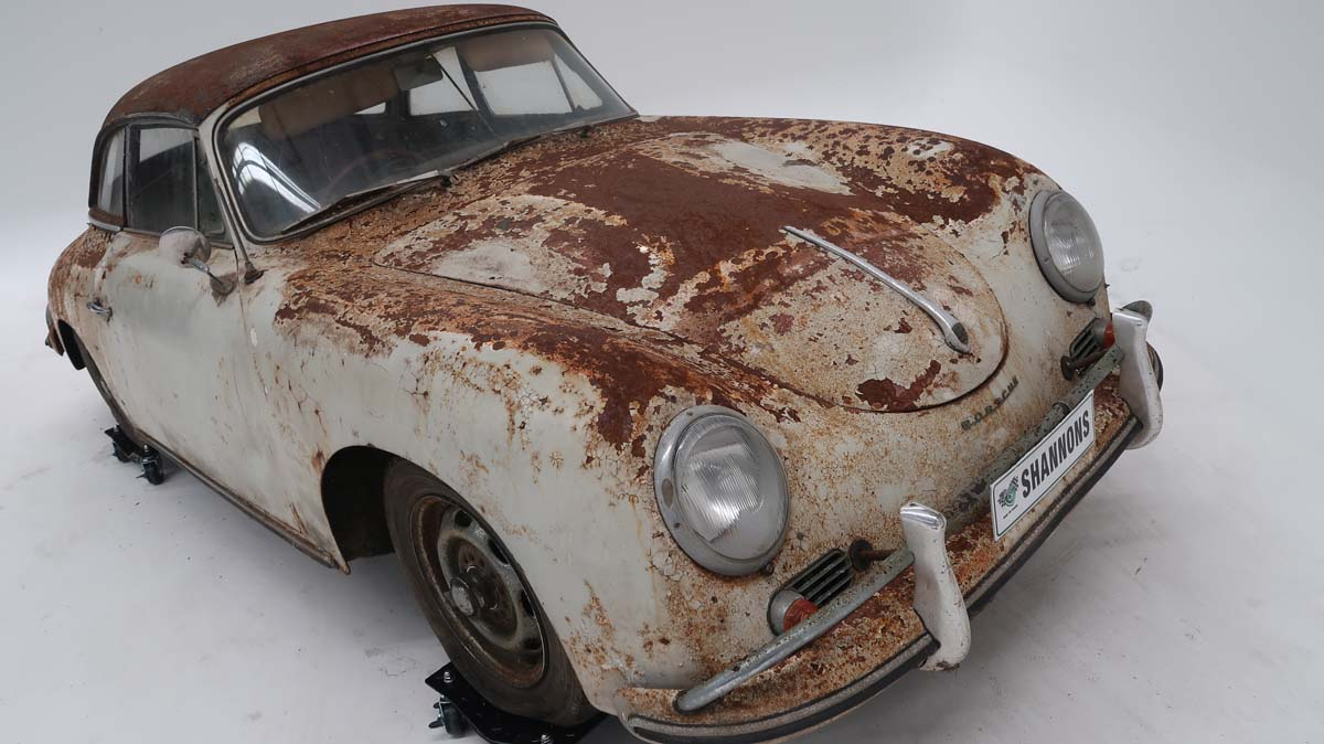 'Resto-ready' Porsche 356A going to auction