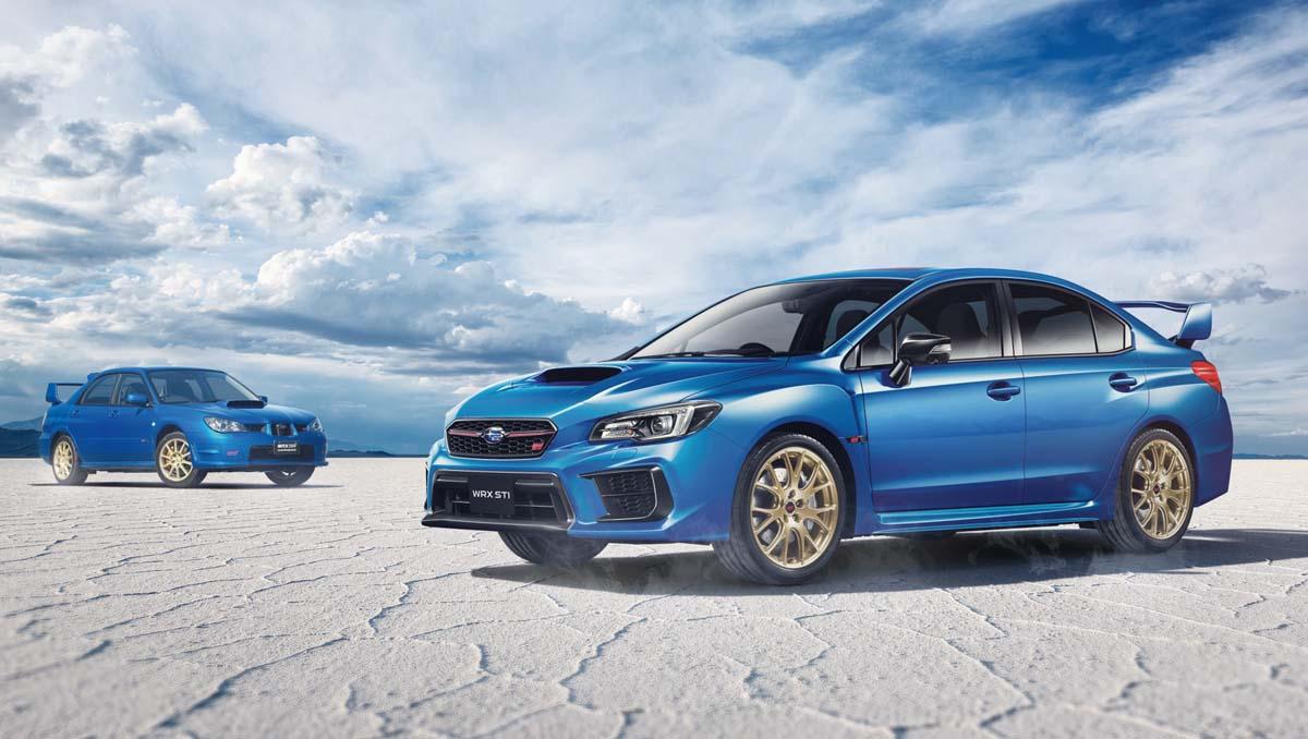 Subaru farewells current WRX STI