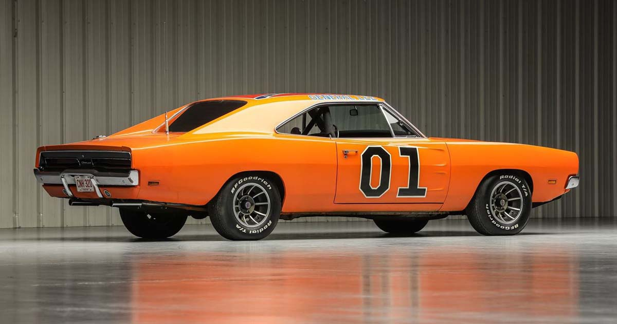 'General Lee' Dodge Charger going to auction in US
