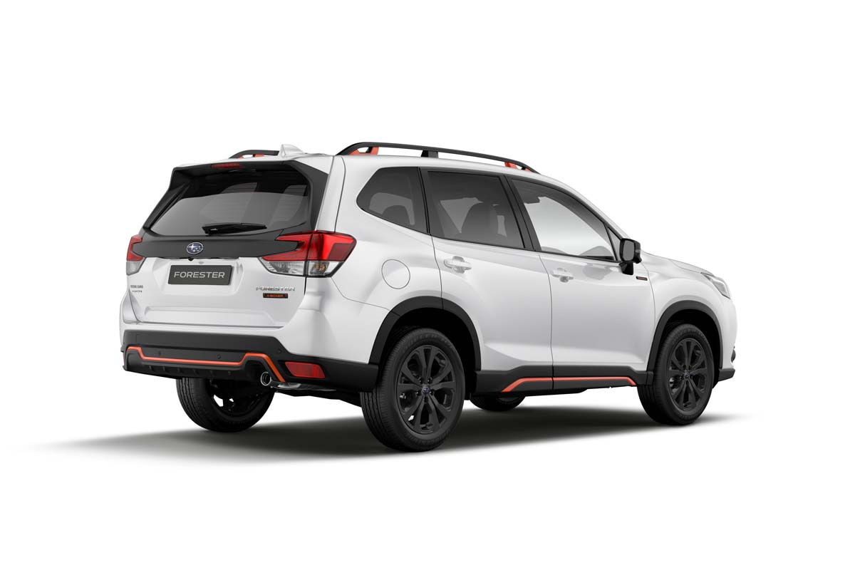 Subaru updates Forester
