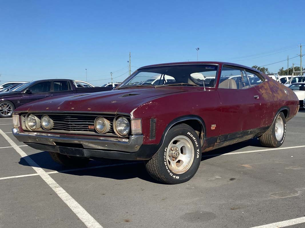 One-off XA Falcon GT hardtop to be auctioned