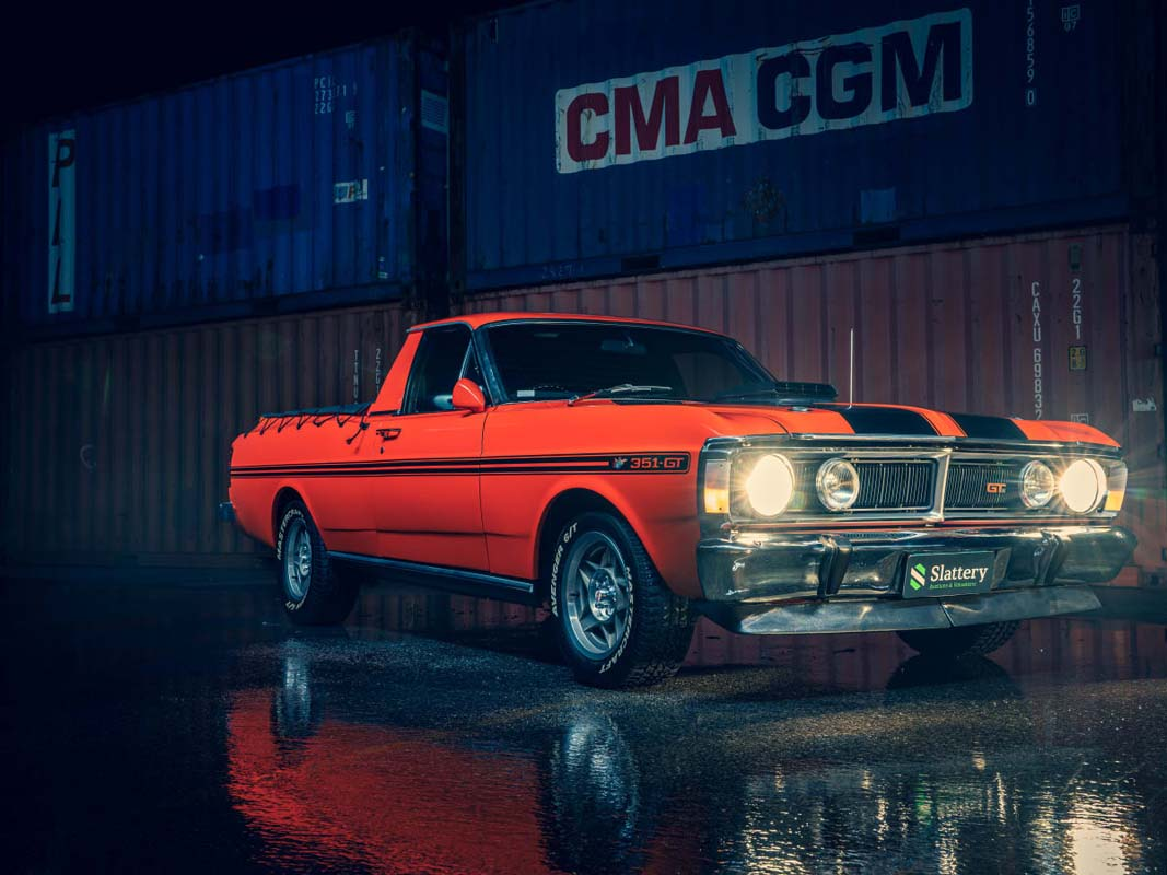 Incredible Aussie and American Muscle Car Auction