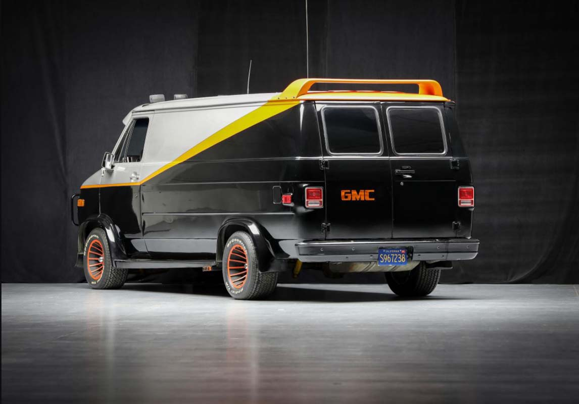 'A-Team' van going to auction in US
