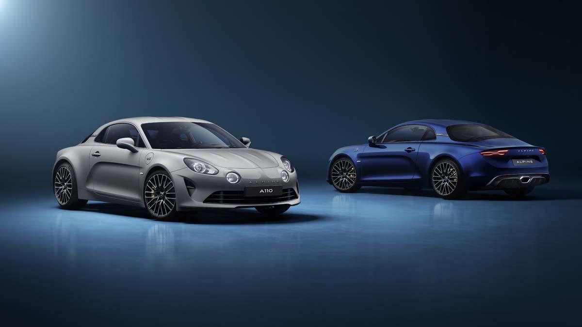 Alpine release 'Légende GT' version of new A110