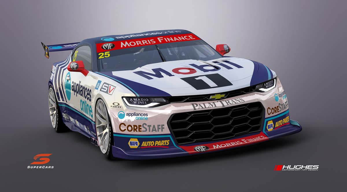 Supercars to delay introduction of Gen3 chassis