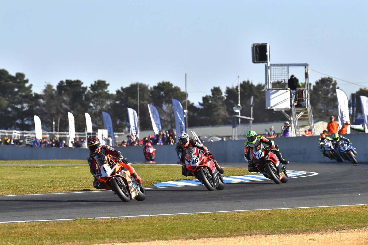 Aus Superbikes adjusts 2021 calendar again