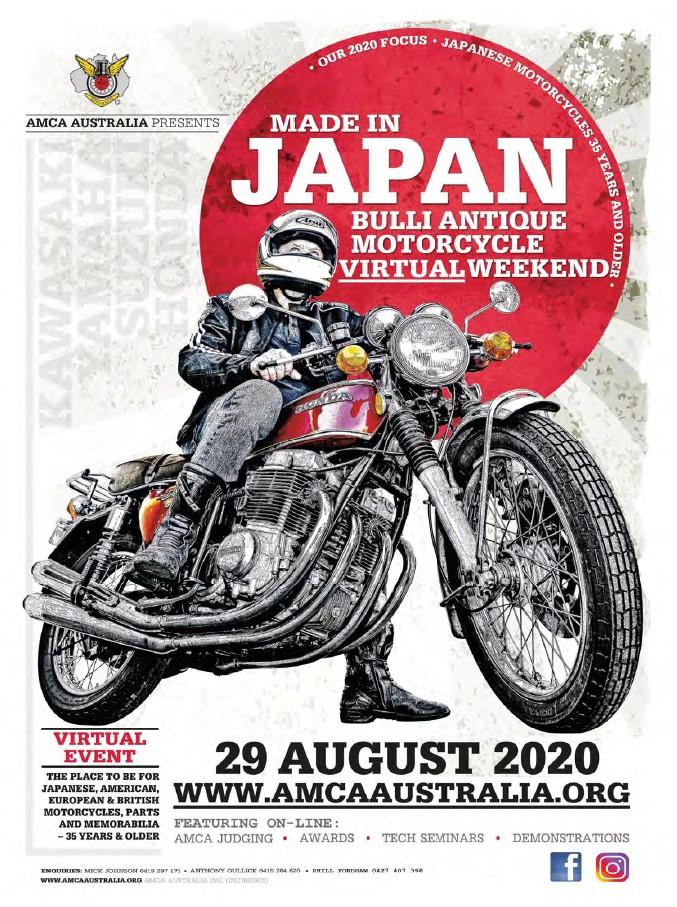Virtual Bulli Antique Motorcycle Event