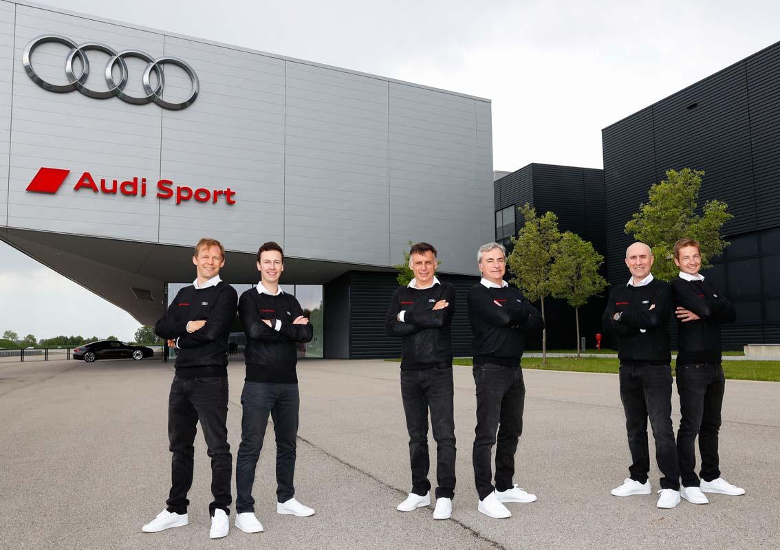 Audi confirms driver lineup for 2022 Dakar