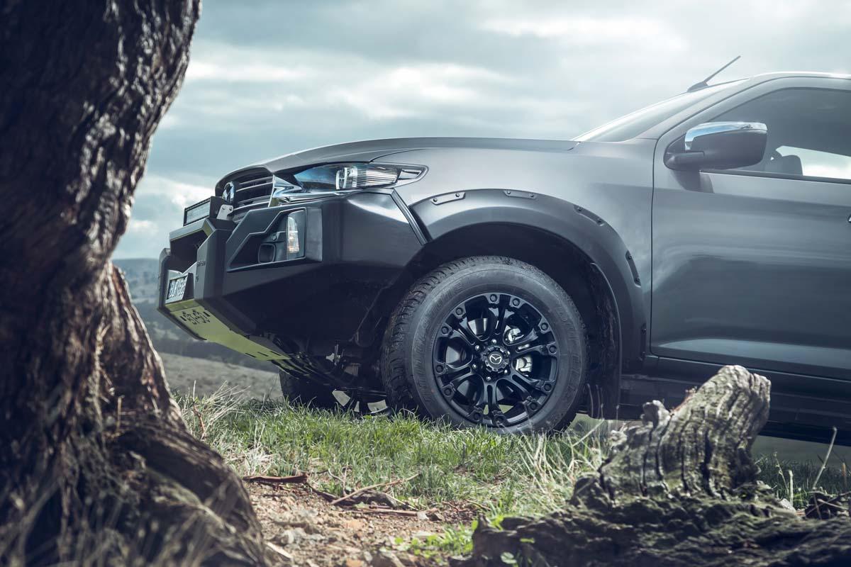 Mazda launch BT-50 'Thunder'